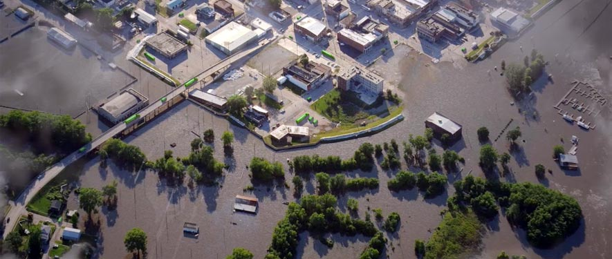 Griffith, IN commercial storm cleanup